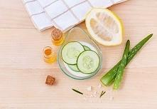 Tonik ogórkowy z cytryną  Bardzo dobre efekty przynosi również korzystanie z ...
