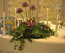 dekoracja stołu państwa mło...