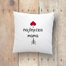 My na Dzień Matki polecamy poduszki! Dodatkowo z możliwością zamówienia indywidualnego nadruku:) Już od 29 zł.  littlethings.pl