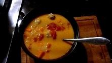 Słodka Czerwona zupa, szybk...