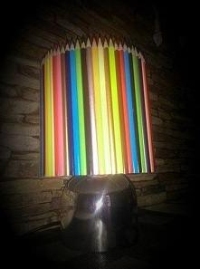 lampka z kredek