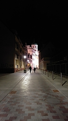 Szczecin nocą
