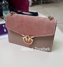 torebka damska stylizowana na Pinko skóra naturalna Fb/ Atelier Torebek wysył...