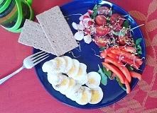 Dzisiejsze sniadanie: dwa u...