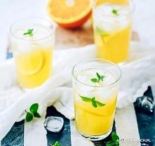 Najlepsza lemoniada Orzeźwiająca i obłędnie cytrynowa. Lemoniada na upalne dn...