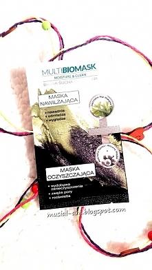 Recenzja maseczki Multi BioMask - czy jestem zadowolona z jej działania? Zapr...