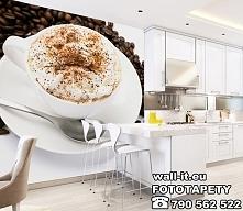 Zmywalna fototapeta do kuchni PYSZNA filiżanka kawy. ;) Idealny dodatek do no...