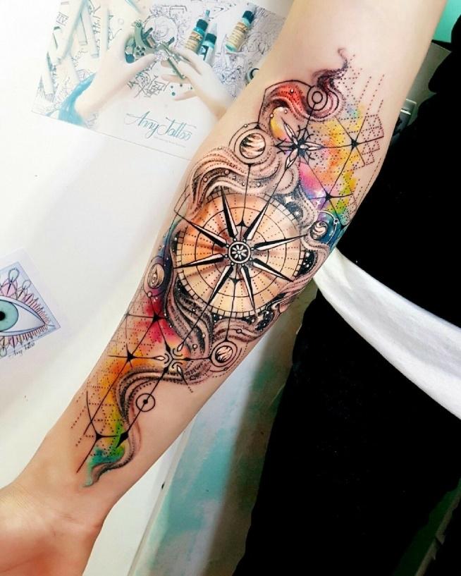 Przepiękny tatuaż :o