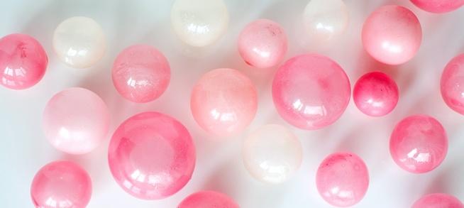 balonowe kuleczki z żelatyny