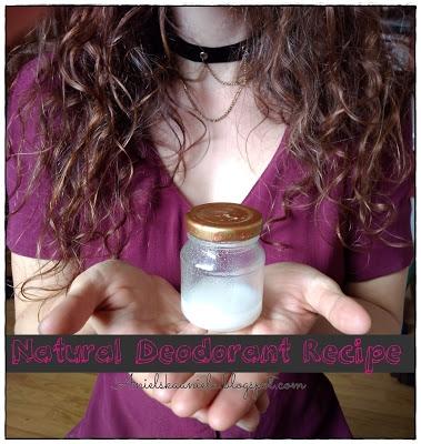Przepis na naturalny i prosty w wykonaniu dezodorant Diy