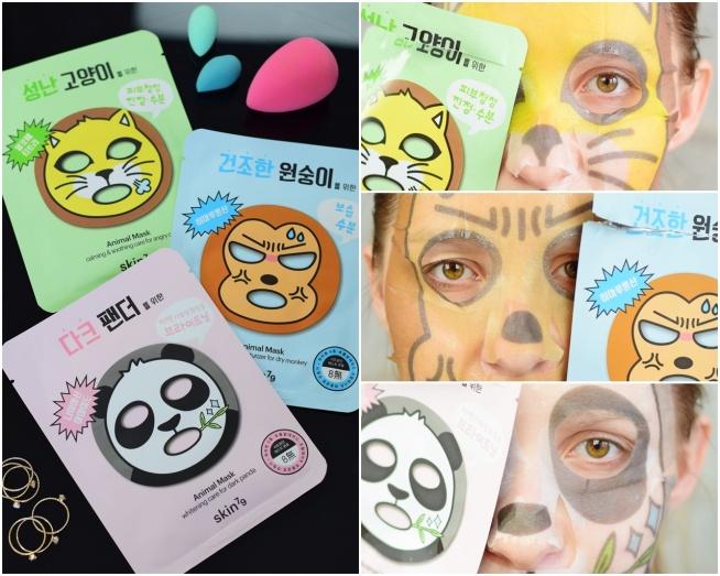 Zapraszam serdecznie na test zwierzakowych masek od Skin79 :)