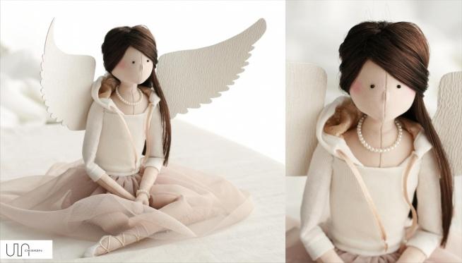 anioł szyty prezent dla cór...