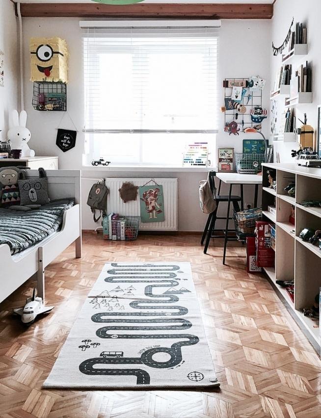 Żaluzja Drewniana w pokoju małych rozrabiaków --więcej na blogu littlehooligans <3  FB: Nasze Domowe Pielesze IG: domowe.pielesze