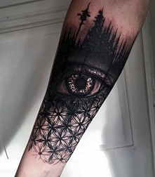 tattoo 3d incredible eye