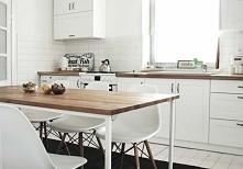 Klasyczna i funkcjonalna kuchnia w skandynawskim stylu