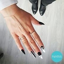 Black&White by NEESS@boskiepaznokcie