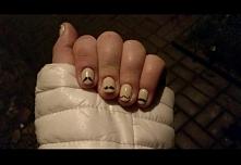 Bardzo króciutkie moja paznokietki (złamał się ostatnio jeden a nie dotarł do...
