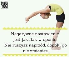 Negatywne nastawienie jest ...