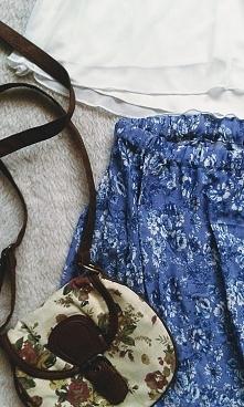 Przeróbka maxi sukienki - @Handmade by Brzostula