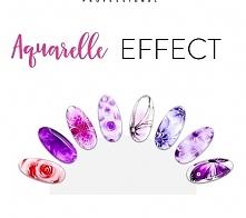 Propozycje stylizacji z użyciem hybryd Neonail Aquarelle.