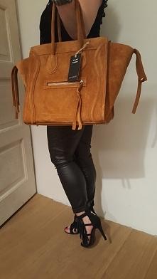 duża torebka stylizowana na światowej marki torebek , skóra naturalna Fb/ Ate...