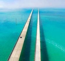 Siedmiomilowy most na Florydzie, USA.