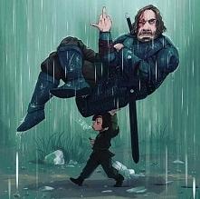 Arya i Ogar Gra o Tron