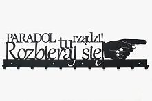 Wieszak na ubrania na zamówienie indywidualne - art-steel.pl