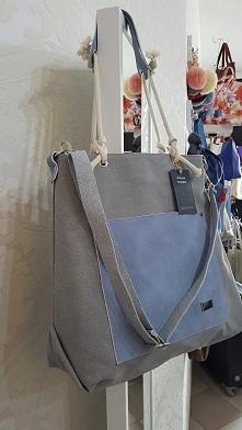 torebka damska z materiału w matynarskim stylu Fb/ Atelier Torebek wysyłka 24h