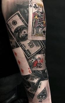 karty i pieniądze