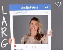 ramka instagram do robienia zdjęć . Dostępna u nas ;)