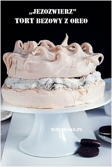 Tort bezowy z oreo – jeżozw...