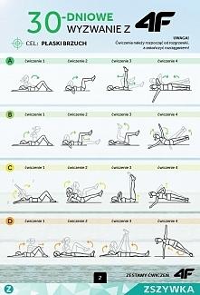 30-dniowe wyzwanie-płaski brzuch