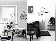 Czerń i biel we wnętrzach ! Black&white to genialny duet! inspiracje po k...