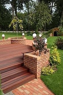 taras drewniany..