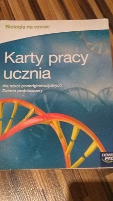ćwiczenia do biologii - 10zł + wysyłka st. b.dobry