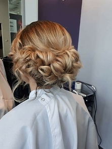 Weselna fryzura
