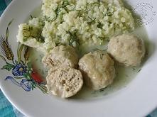 Pulpeciki W Sosie Koperkowym       1/2 kg mięsa mielonego     dupka cebuli st...