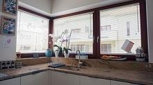 Białe żaluzje drewniane 25mm - inwestycja w domu Pani Ani :)  Zobacz więcej n...