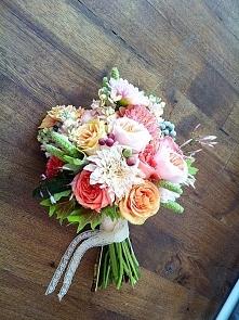Bukiet ślubny, taki chce mieć :)