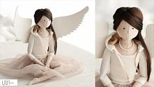 anioł szyty prezent dla córki angel handmade