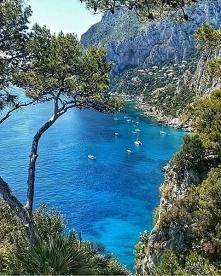 Wyspa Capri we Włoszech.
