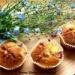Muffinki z nadzieniem rabarbarowo-truskawkowym :) Pycha! :D