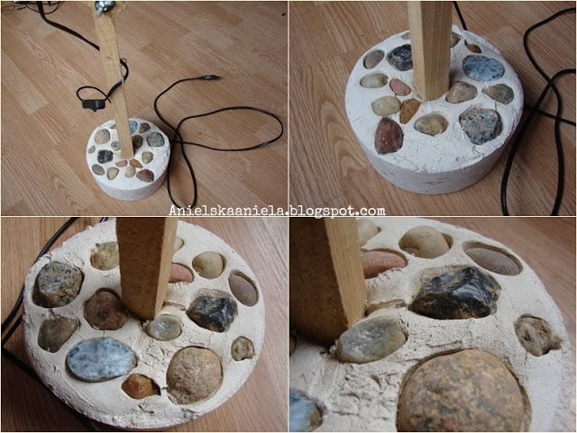 Stelaż z lampką na biurko krok po kroku