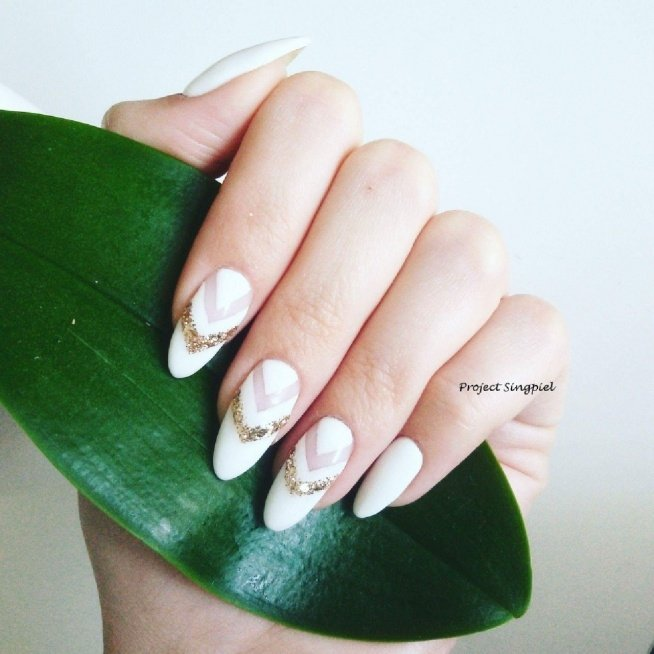 Wedding Nails. Ślubne Pazno...