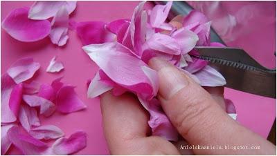 Różane perfumy Diy