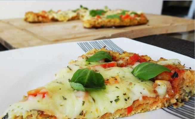 Fit Pizza Z Kalafiora Składniki Ciasto 1 Większy