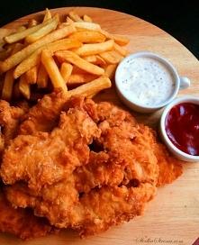 NAJLEPSZE DOMOWE STRIPSY JAK Z KFC