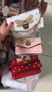 torebka stylizowana na światową markę Gucci dostępna w różnych kolorach Fb/ Atelier Torebek wysyłka 24h