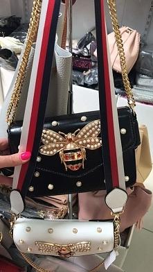 torebka stylizowana na światową markę Gucci dostępna w różnych kolorach Fb/At...